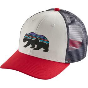Patagonia Fitz Roy Bear Trucker Hat white